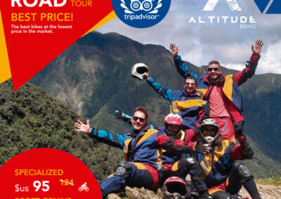 Death Road Bolivia Biking Tour
